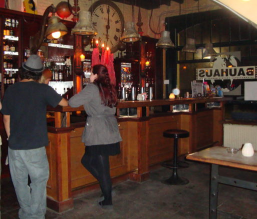 Bar of the Buahaus Hostel