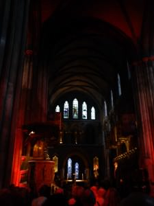 Dracula reading at St. Patrick's cathedral, The Centenary of Bram Stoker's Death in Dublin