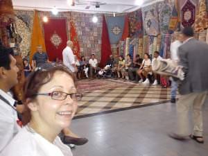 Carpet ripoff in Tangier, Day Trip to Tangier