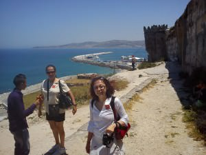 View of Tangier and Atlas Mountains, Day Trip to Tangier