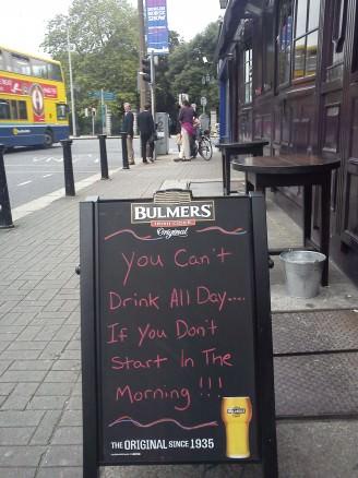 Best Irish Pub Advertising