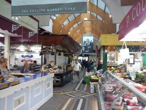 Butcher and artisan shops, english market cork