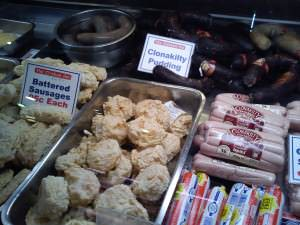 Black and white pudding deli, english market cork