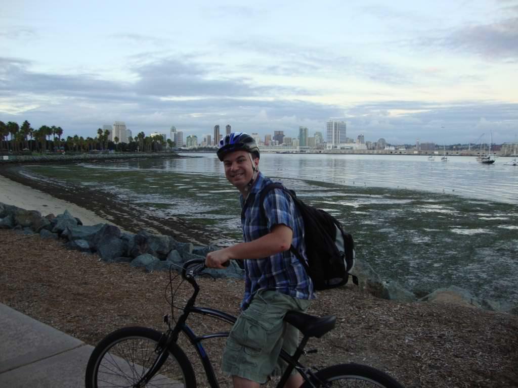 renting a bike on coronado island