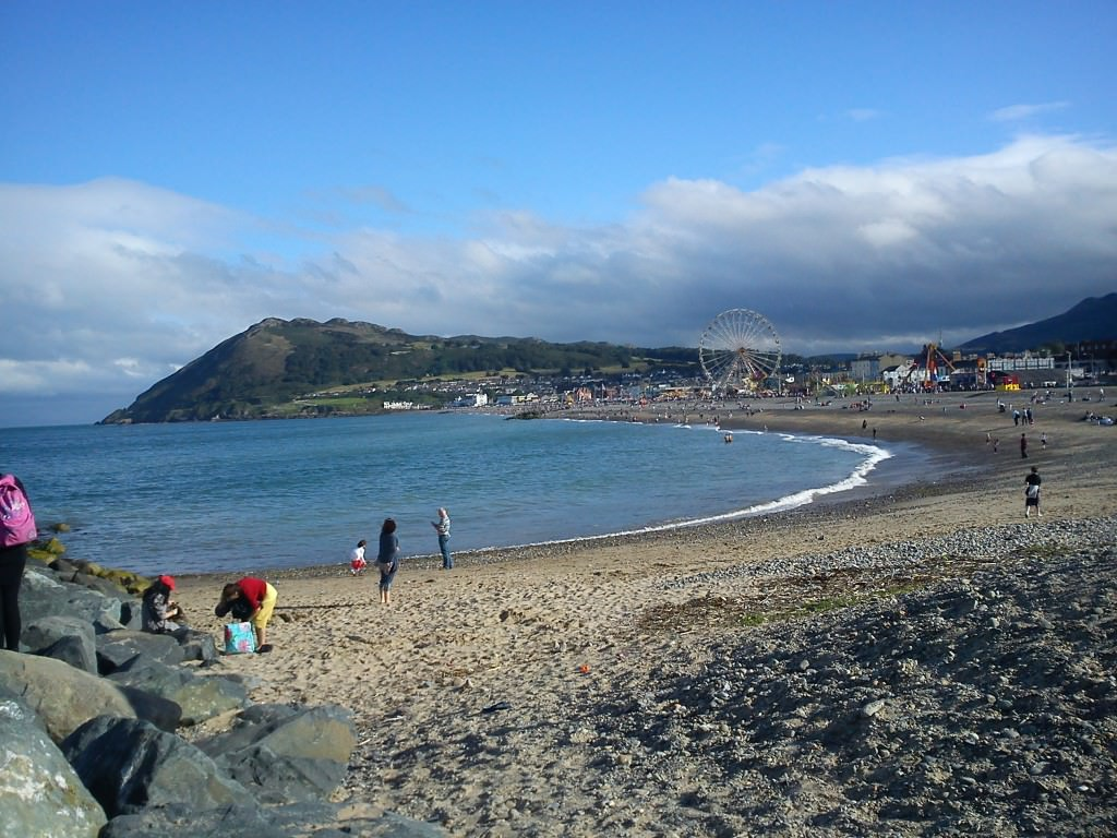 Bray cliff walk, Beach