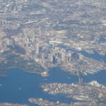 Sydney, Australia from the air