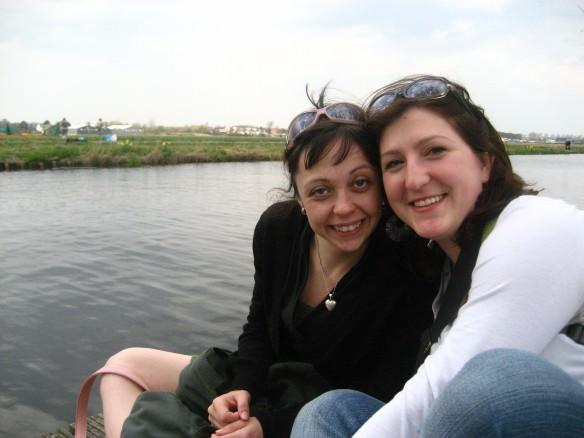 Picnicking in the Dutch village of Hillegom during tulip season, with one of the closest friends we made while living in Amsterdam. Met through CS.