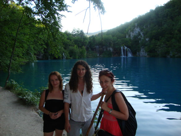 Bell with good friends we made through couch surfing, at the Plitvice Lakes National Park in Croatia.