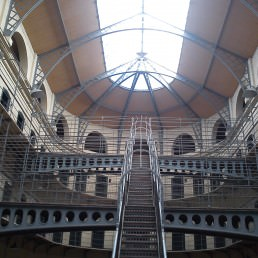 Kilmainham Jail, where 'In the Name of the Father' was filmed