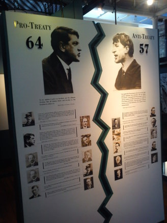 Anglo-Irish Treaty votes, best political history lesson in Dublin