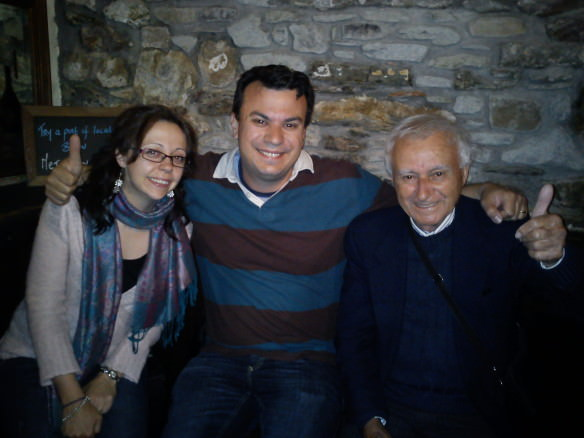 father's visit to Ireland