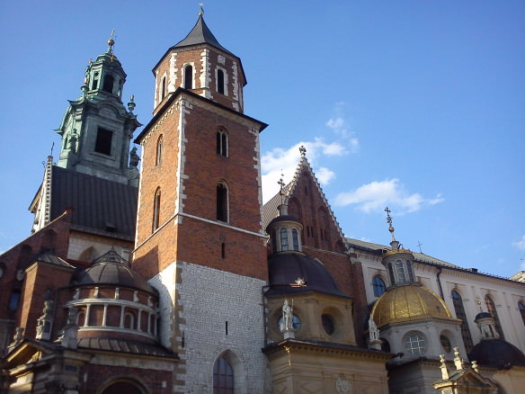 Wawel Castle, Krakow in Poland