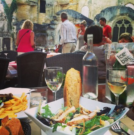 Dinner in Saint Emilion day trip from bordeaux