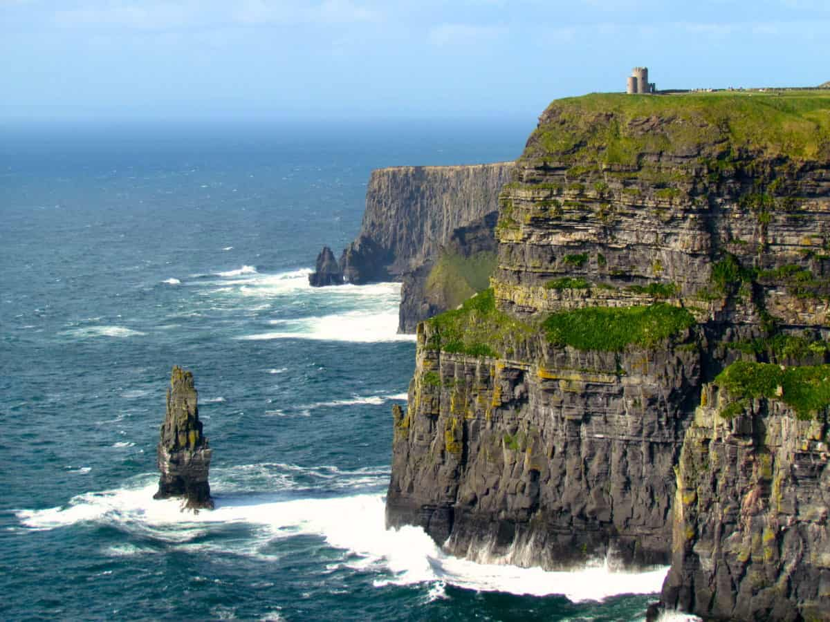 visiting  cliffs  moher  rental car  dublin wanderlust marriage