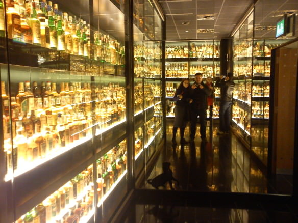 Scotch Whisky experience, Edinburgh - Largest collection of whisky