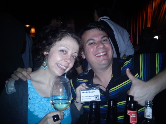 Thumbs up to a great TBEX party at the Odeon in Dublin! World's largest travel blog conference
