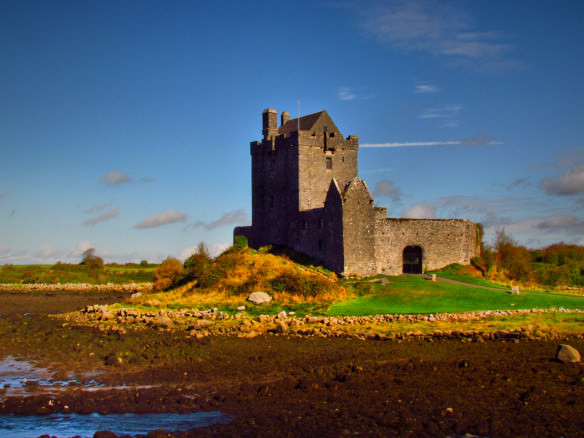 touring the west coast of Ireland - Kinvara castle