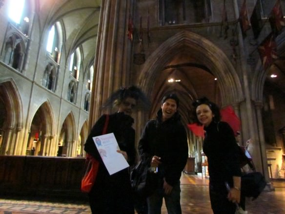On a Vampire Hunt in Dublin's Christ Church Catherdral