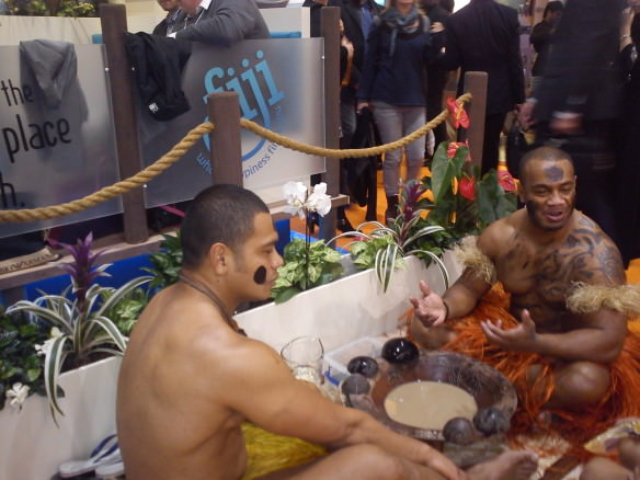 Fiji at World Travel Market in London