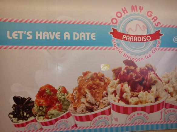 Malaysian ice cream shop, funny kuala lumpur photos