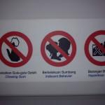 Funny Kuala Lumpur Photos: No Kissing and No Spitting!
