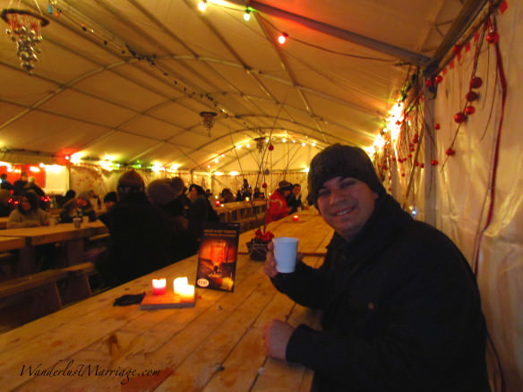 Hot cider - Christmas Market