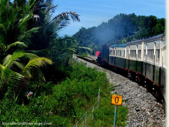 North Borneo Railway, through the jungle