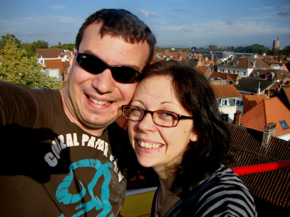 Taking in the scenery after some Romance and Indulgence in Brugge