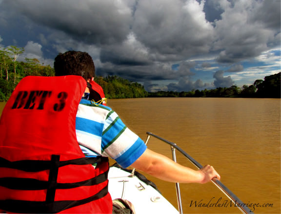 Kinabatangan River - adventurous Borneo honeymoon