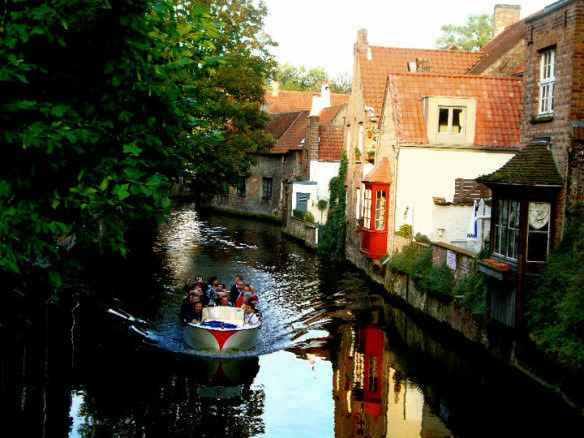 Canal ride in Brugge