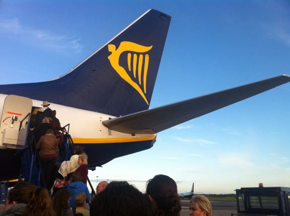 boarding - Ryan air