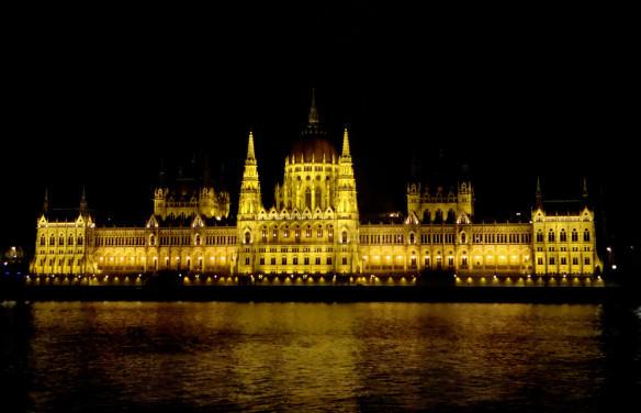 Parliament - Budapest at night