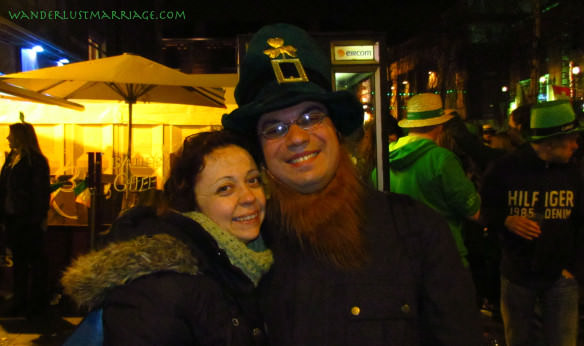 Temple Bar, St Paddy's day