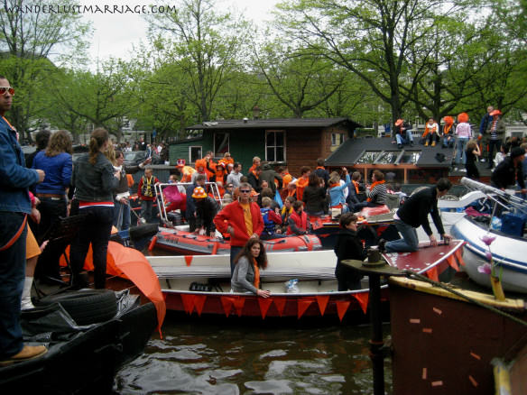 Queen's day craziness