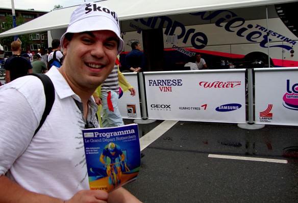 Tour de France brochure