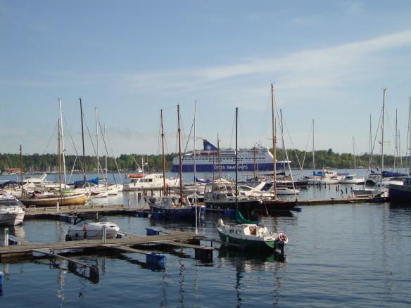 ships in Oslo, DFDS Seaways