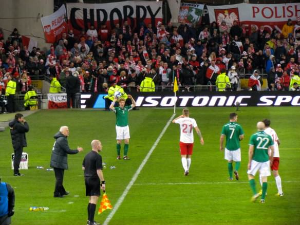 Ireland vs Poland football