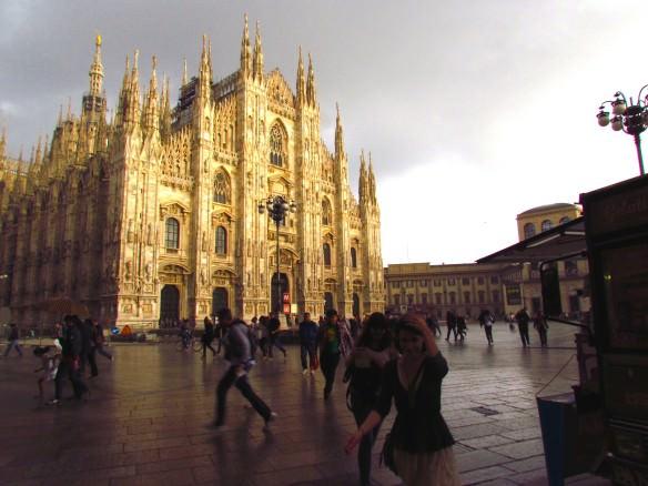 Milan Duomo in the Rain