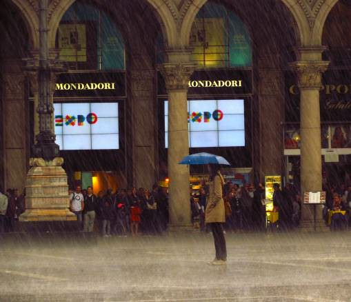 Milanase Lady in the Rain