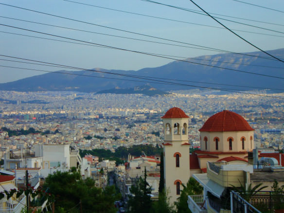 Athens from Aega Barbara
