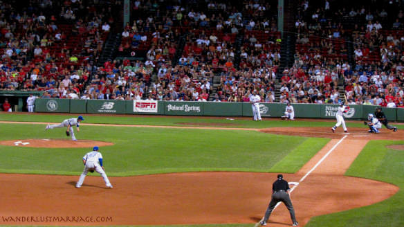 Fenway Red Sox vs Blue Jays