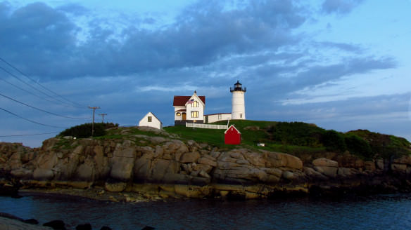 Nubble Lighthouse in York, New Hampshire