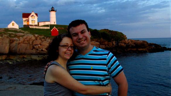Nubble Lighthouse, Maine sunset