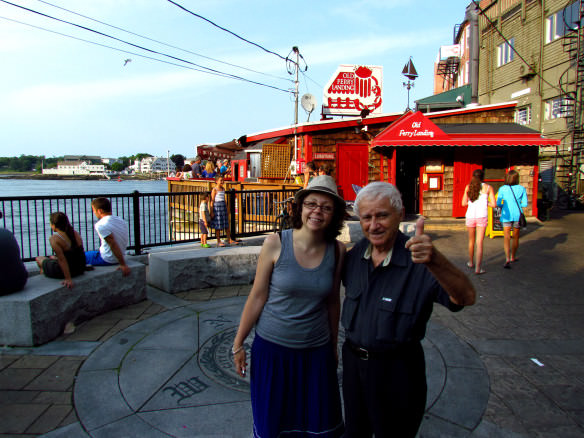 Lobster shack in Portsmouth, New Hampshire