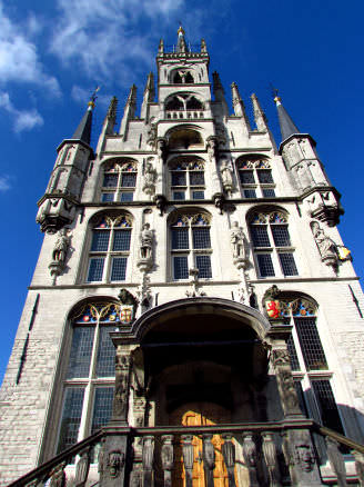 Gouda City Hall in the Grote Markt