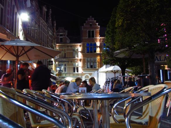 The cafe terraces of Leuven are wonderful for dining al fresco.