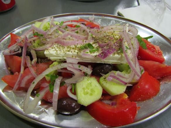 Greek salads are a favorite for those looking to eat a bit lighter.