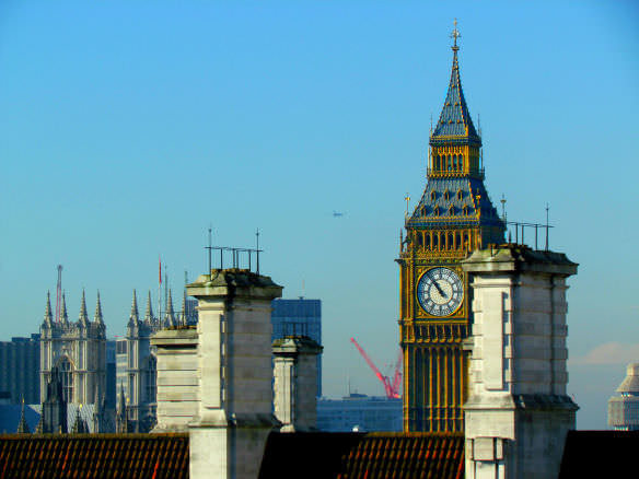 I absolutely loved my view of Big Ben and Westminster Abbey from the 11th floor of the Premier Inn Waterloo
