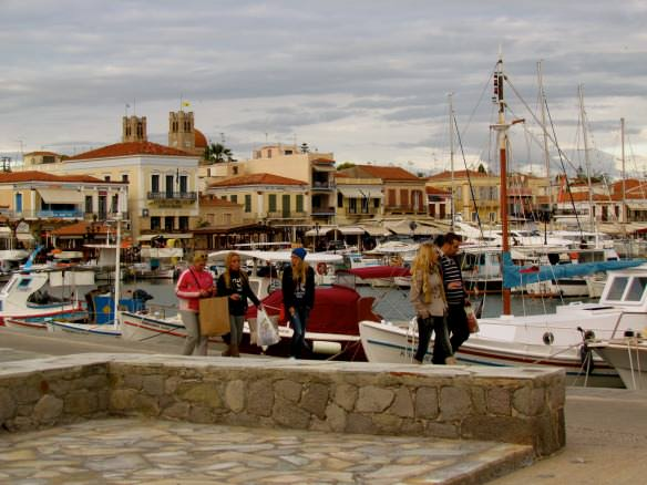 Aegina town, Greece