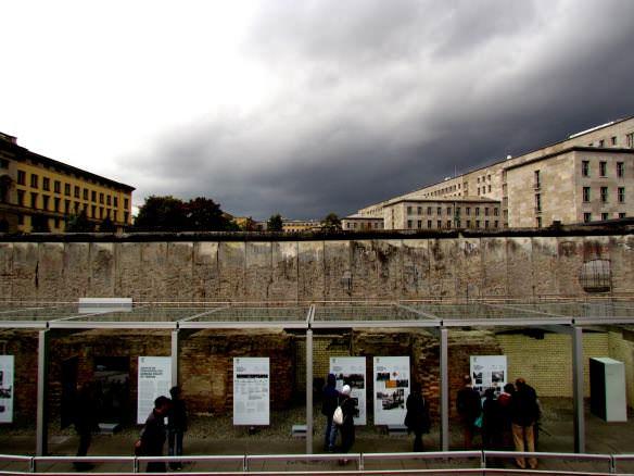 Topography of Terror - Berlin Wall Luftwaffe Color